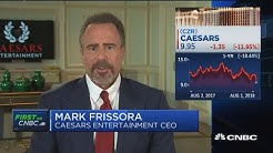 Caesars Entertainment CEO on plummeting stock price