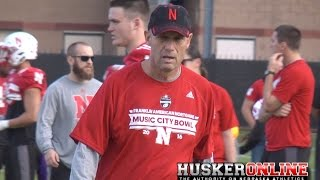 Nebraska Football Monday Practice Report