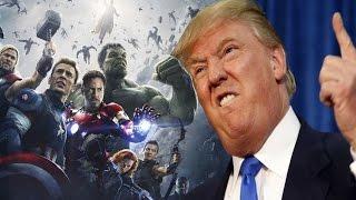 Мстители против Дональда Трампа. Сэмюэл Л. Джексон (Ник Фьюри) эмигрирует из США?!