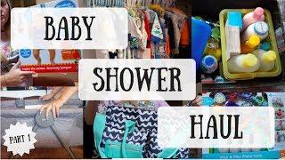 BABY SHOWER HAUL PART 1 ⎥ jackielee&baby