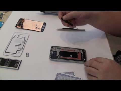 Samsung Galaxy S5 G900F auseinaderbauen zerlegen Reparatur