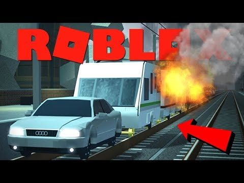 DEZE CARAVAN TREIN IS GEVAARLIJK !! | Roblox Terminal Railways
