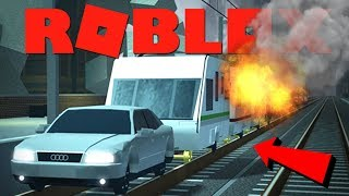 THIS CARAVAN TRAIN IS DANGEROUS!! | ROBLOX Terminal Railways