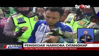 Menghindari Razia, Pengedar Narkoba Terciduk Polisi di Flyover Klender, Jakarta