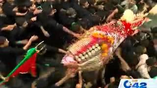 Shabia Zuljana central procession ends at Karbala Gamay Shah