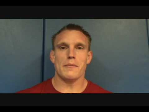 Interview with Olympic medalist Adam Wheeler at 2009 Greco World camp