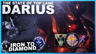 THE STATE OF TOP LANE WITH DARIUS! CAN WE SNOWBALL? - Iron to Diamond | League of Legends