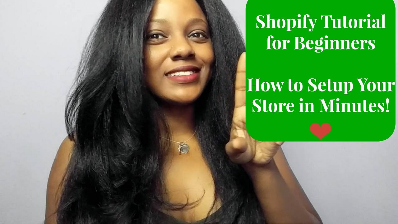 **NEW** Shopify Tutorial for Beginners | How to Setup Your Store In Minutes!