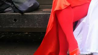 アコスタ。#アコスタ池袋。#コスプレ。#アニメイベント。#赤タイツ。#赤...
