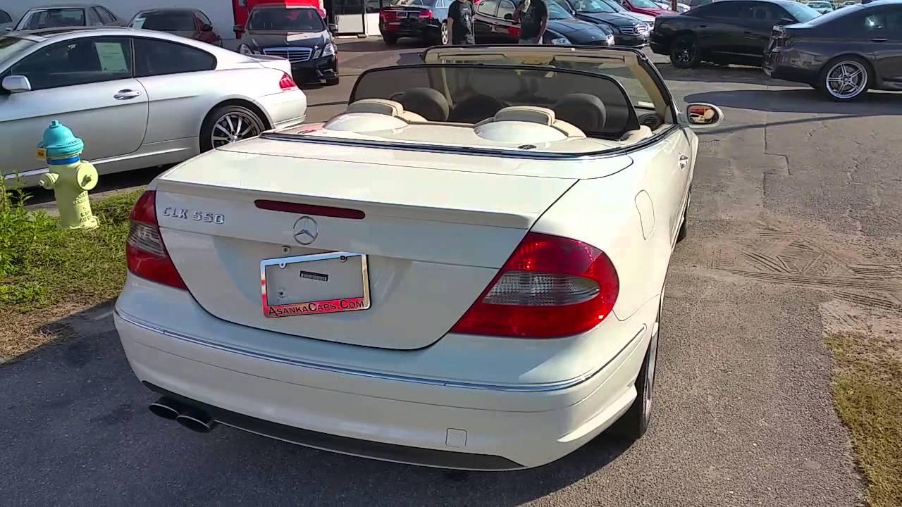 2007 Clk550 Convertible Asankacars