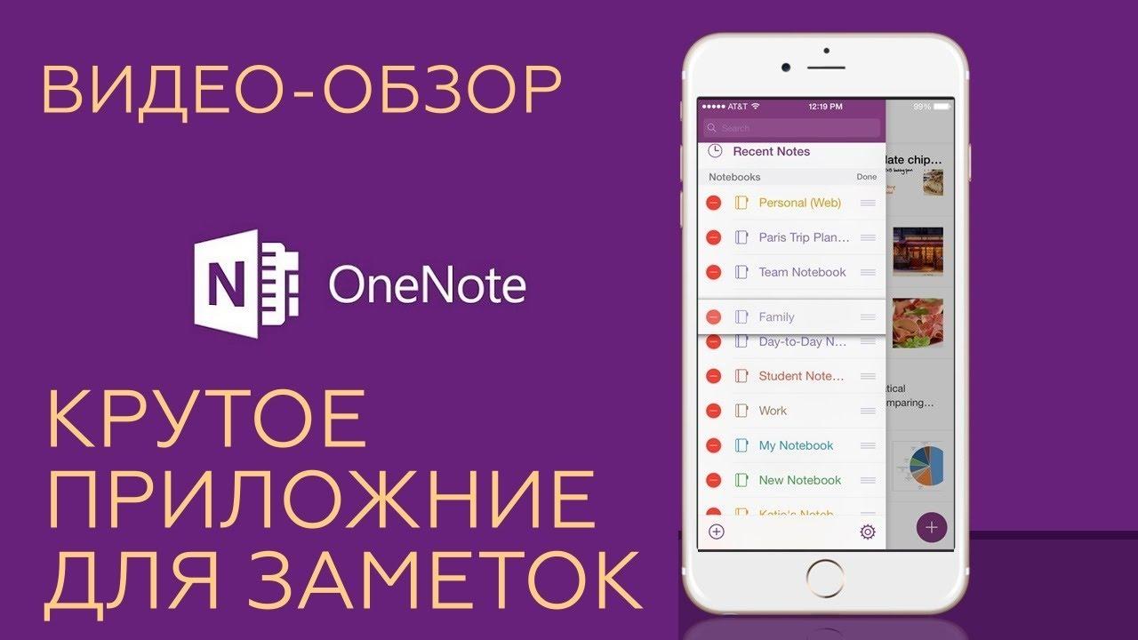 Обзор приложения One Note.  Мой лучшее приложение для заметок.  Онлайн блокнот.