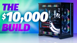 Want a car or a PC? The $10000 Dual RTX 3090 Gaming PC Build!