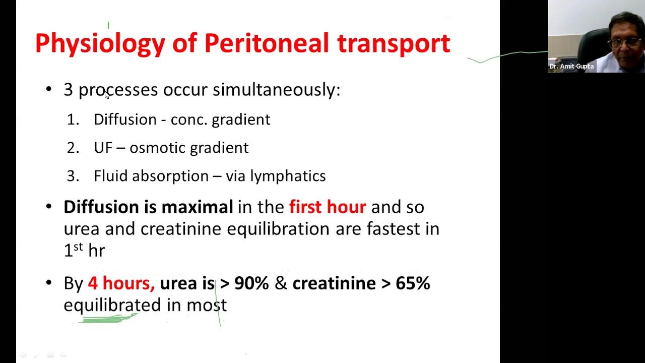 Components Of Peritoneal Dialysis Prescription