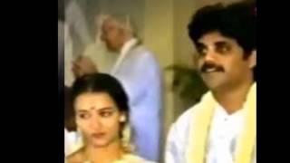 Telugu actor Nagarjuna wedding with actress Amala