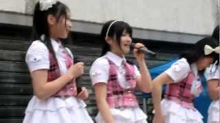 香川発アイドル きみともキャンディ 2012/02/26 善通寺市 赤門筋商店街.