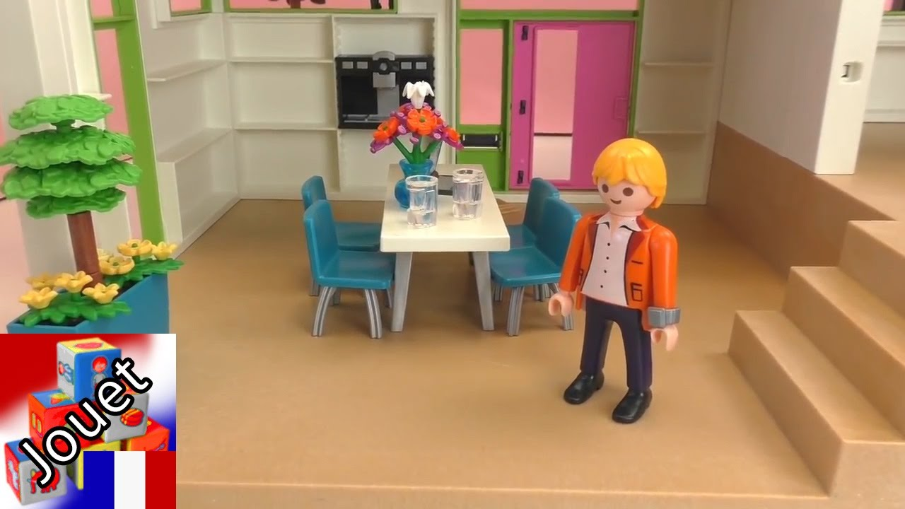 La villa playmobil construction et démo de la villa de luxe playmobil city life youtube