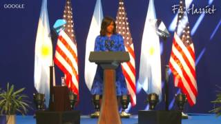 Michelle Obama Speaks on How She's Overcome Sexism