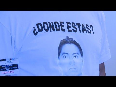 Camiseta con la imagen de un desaparecido
