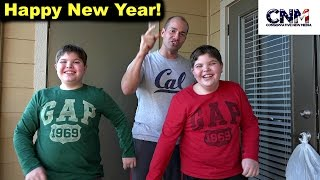 News Years Day VLOG with John D. Villarreal and Salma's Kitchen