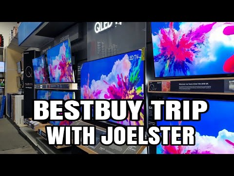 First BestBuy Trip Of 2019 A Good Time To Buy A TV Or No?