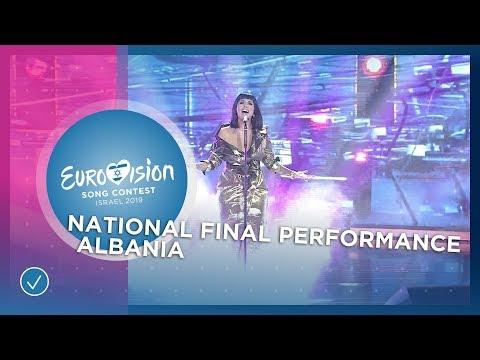 Jonida Maliqi - Ktheju Tokës - Albania 🇦🇱 - National Final Performance - Eurovision 2019