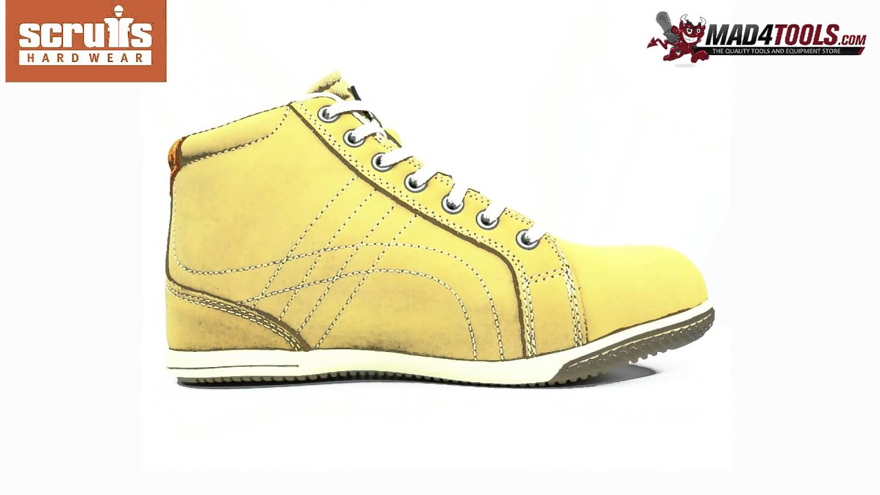 85d0e662186 Scruffs EDEN S1P SRA Rated Boot Women's Tan Safety Footwear (Sizes 4-8)