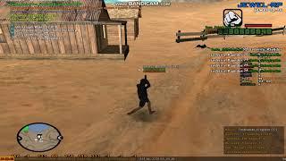 Jewel rp - Cheat 2 - Бомжик зашёл и начал тащить с аимом.