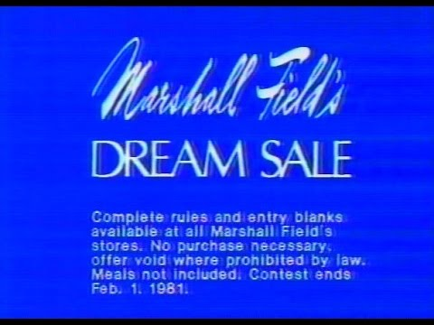 """Marshall Field's - """"Dream Sale"""" (Commercial, 1981)"""