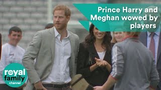 Prince Harry and Meghan, Duchess of Sussex wowed by players in Croke Park thumbnail