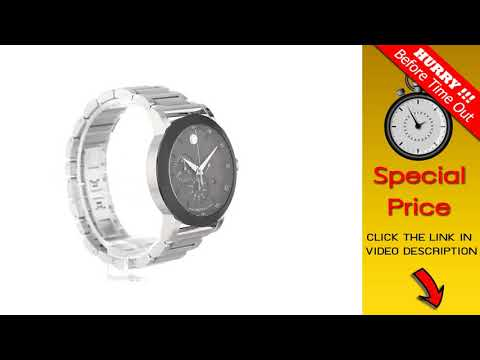 ac38ddb06 BIG DEAL $ Movado Men's 0606792 Museum Sport Stainless Steel Watch with Black  Dial