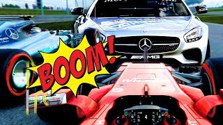 Safety Car subito! LA MACCHINA NON VA! - F1 2017
