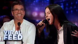SHE IS ONLY THIRTEEN ?? AMAZING SINGER ON AGT !!| VIRAL FEED