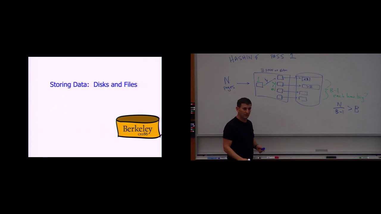 Lecture 05  Storing Data: Disks and Files (CS 186, Spring 2015, UC Berkeley)