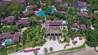 InterContinental Pattaya Resort Bird eye view from Drone