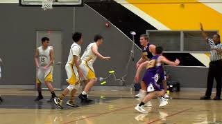 The granada matadors take court for their east bay league game againstthe amador valley donsthe mats looking good in first.. tyler morano escapes the...