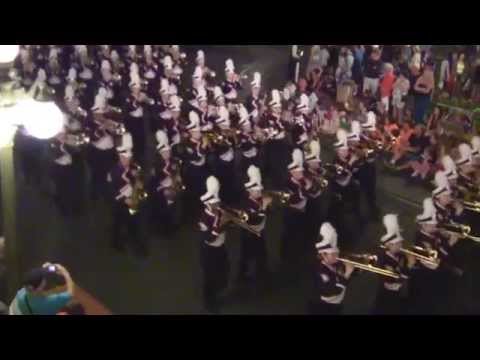 West Aurora High School Marching Band at...