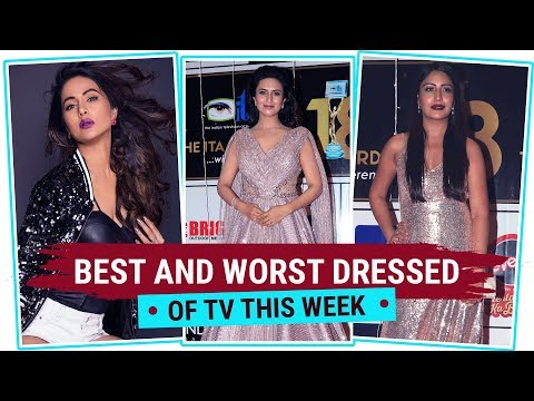 Hina Khan, Divyanka Tripathi, Surbhi Chandna : Best & Worst Dressed of the Week