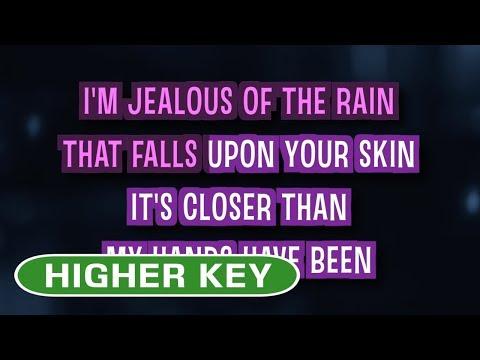 Jealous (Karaoke Higher Key) - Labrinth