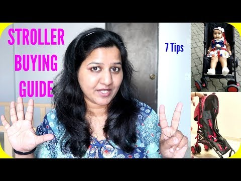 STROLLER BUYING GUIDE | 7 TIPS
