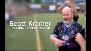 Scott Kramer 1967 - 2019 - Tribute at CFC match