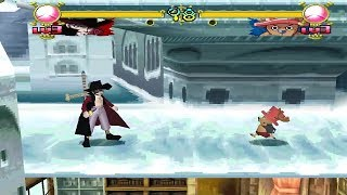One Piece: Grand Battle! 2 [PS1] - play as Mihawk