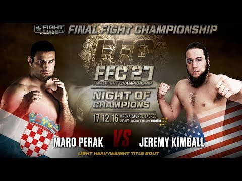 FFC 27: Jeremy Kimball vs. Maro Perak