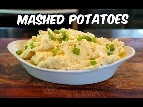 How To Make Mashed Potatoes – Garlic & Herb Mashed Red Potato Recipe