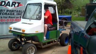 Hydrostatic Utility Vehicle 3