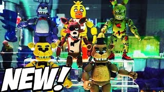 Five Nights at Freddys: NEW Prototype Toy Pictures! NEW FUNKO Spingtrap, Crying Child, And MORE!