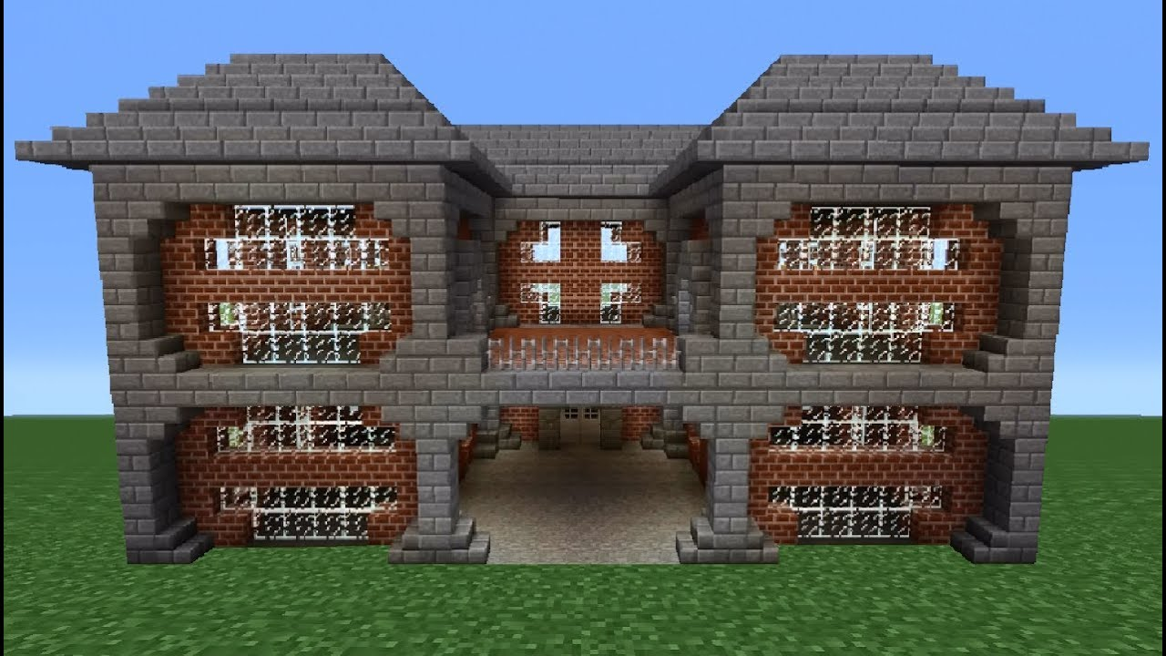 Minecraft Tutorial: Brick House