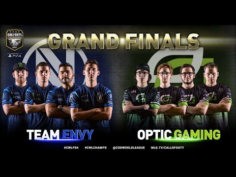 Team EnVyUs vs OpTic Gaming - Grand Finals - Bo5 #2 - CWL Championship 2017
