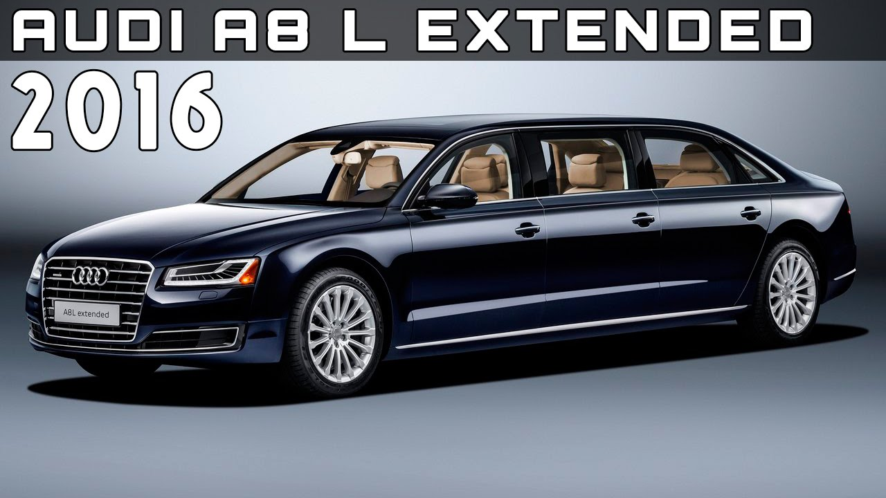 2016 audi a8 l extended review rendered price specs. Black Bedroom Furniture Sets. Home Design Ideas