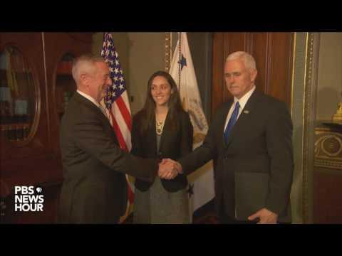Watch Gen. James Mattis be sworn in as secretary of defense
