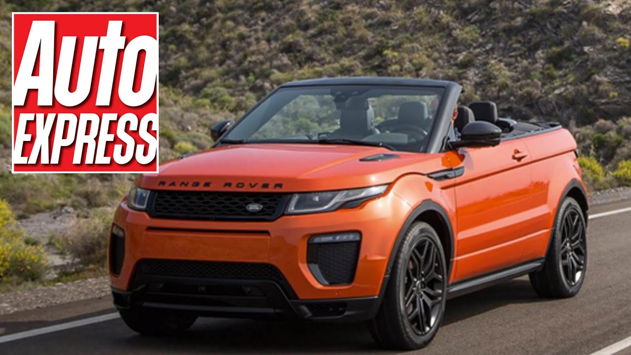 New Range Rover Evoque Convertible first look at the 2016 drop